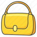 accessory, bag, fashion, handbag, purse icon