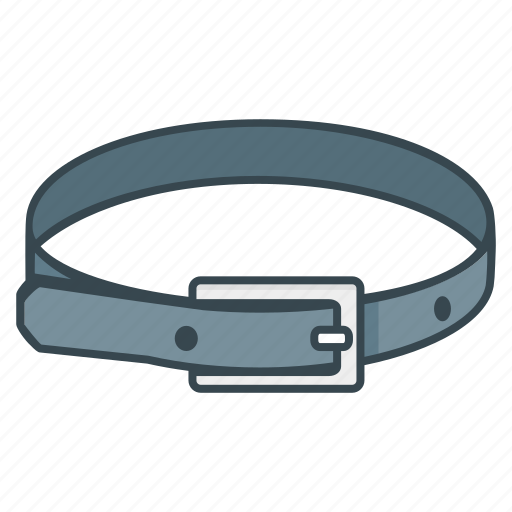 belt, clothes, waistband icon