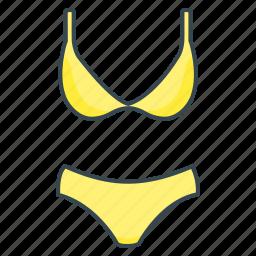 bikini, bra, clothes, swimsuit, swimwear icon