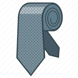 business, clothes, fashion, necktie, style, tie icon