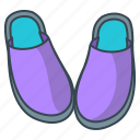 footwear, shoe, shoes, slippers icon
