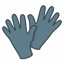 clothes, gloves, hand, palm icon