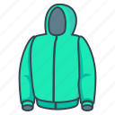 hood, hoody, jacket icon