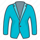 business style, clothes, clothing, costume, jacket icon