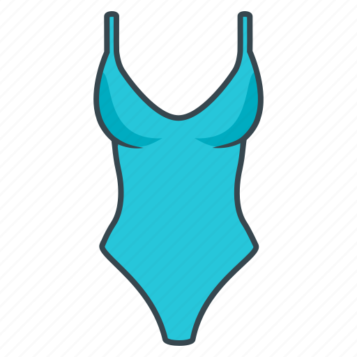 clothes, garment, leotard string, swimsuit icon