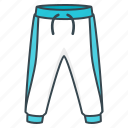 clothes, pants, sport trousers, trousers icon