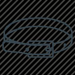 belt, clothes, waistband icon