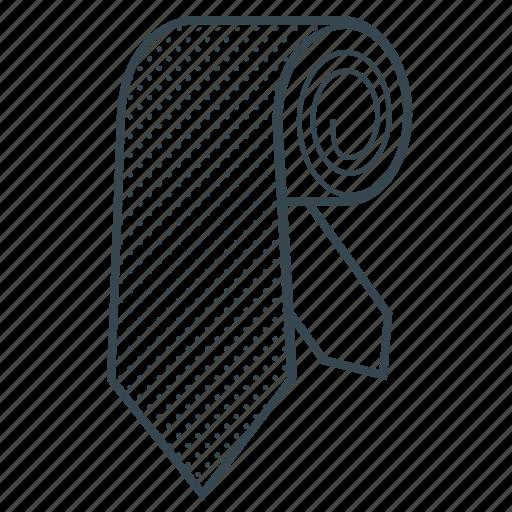 business style, clothes, fashion, necktie, tie icon