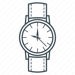accessory, clock, clothes, timepiece, watch, wrist watch icon