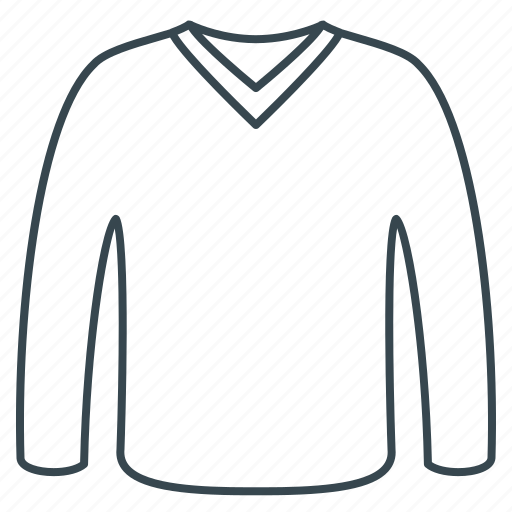 clothes, clothing, fabric, jumper, raglan icon
