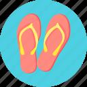 flops, flip, flip flops, footwear
