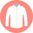 clothes, clothing, collar, fabric, man, shirt icon