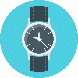 accessory, clock, timepiece, watch, wrist, wrist watch icon
