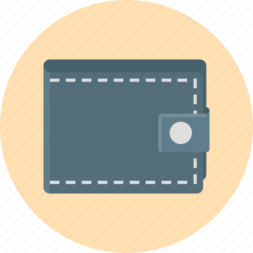 accessory, billfold, purse, wallet icon