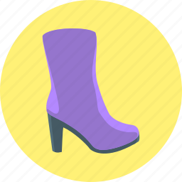 boots, womens, womens boots icon