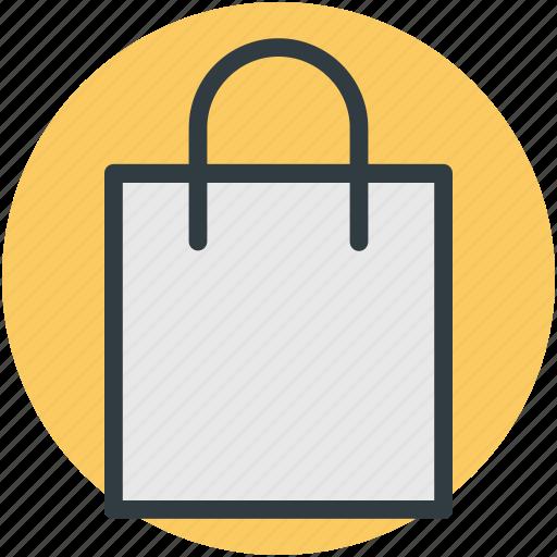 bag, carryall bag, shopping bag, tote, tote bag icon