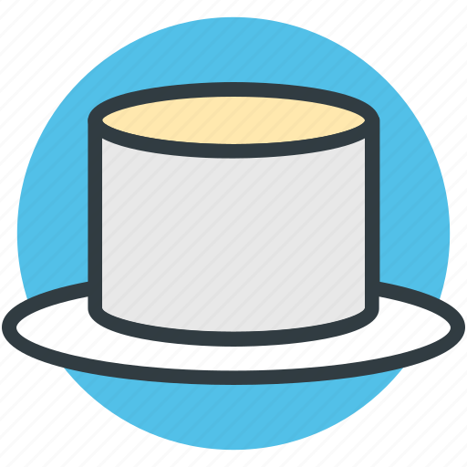 hat, magic top hat, magic wand hat, magician cap, magician hat icon