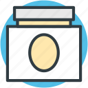 cream, cream jar, spa cream, spa ointment icon