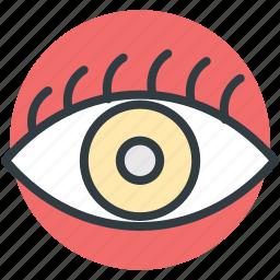 cosmetic, eye beauty, eye makeup, eyeshadow, makeup applying icon