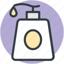 bathe shampoo, foam dispenser, liquid bottle, shampoo, soap dispenser icon