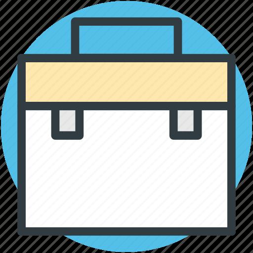 attache case, bag, briefcase, luggage, suitcase icon