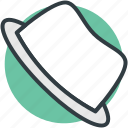 cowboy hat, fedora hat, floppy hat, hat, headwear icon