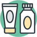 beauty cream, cream, cream bottle, hair conditioner, hair salon icon