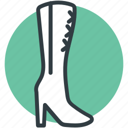 cowboy boot, fashion, footwear, ladies shoes, shoe icon