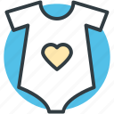 clothes, garment, heart shirt, shirt, t shirt, tee icon
