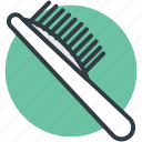 brush, hair brush, radial brush, round brush, vented brush icon