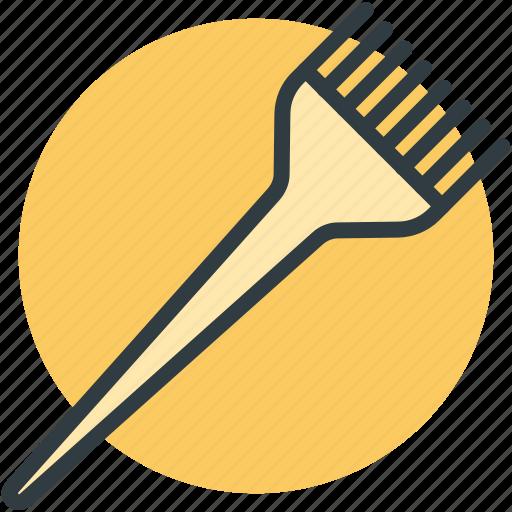 hair dye, hair dye brush, hair salon, tinting, tinting brush icon