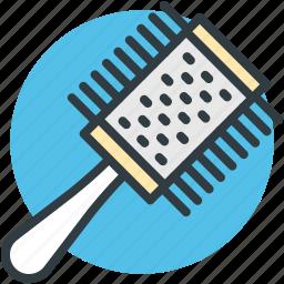 brush, hair brush, radial brush, round brush, vented brush icon