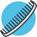 comb, hair comb, hair styling, tail comb, wide tooth comb icon