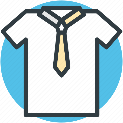 business dress, formal dress, men clothing, shirt, tie icon