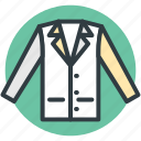 business dress, fashion, formal dress, men clothing, shirt icon