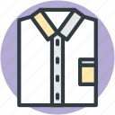 business dress, clothing, fashion, formal dress, shirt, wardrobe shirt icon
