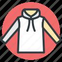 hoodie, hoodie clothing, hoodie jacket, mens hoodie, sweatshirt icon