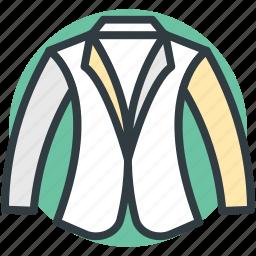casual coat, overcoat, trench coat icon