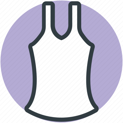 casual top, underclothes, undergarment, undershirt, vest icon