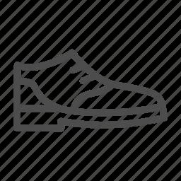 clothes, fashion, formal, shoe icon