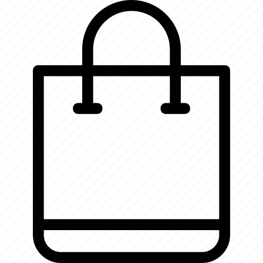 bag, shopper, shopping, shopping bag icon icon