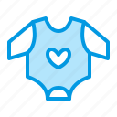 apparel, baby, clothes, clothing icon