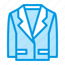 clothes, clothing, jacket, suit icon
