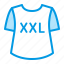 clothes, fasion, plus, size, xxl icon