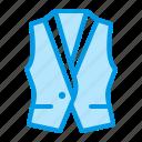 clothing, suit, vest, waistcoat icon