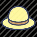 fashion, hat, rilex, summer, woman