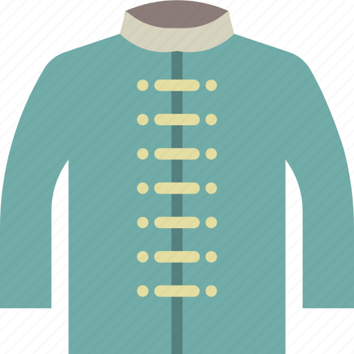 chinese, cloth, shirt, style, uniform icon