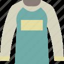 cloth, long, shirt, sleeve, style, unisex icon