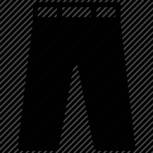 men's, pant, trouser, wear icon