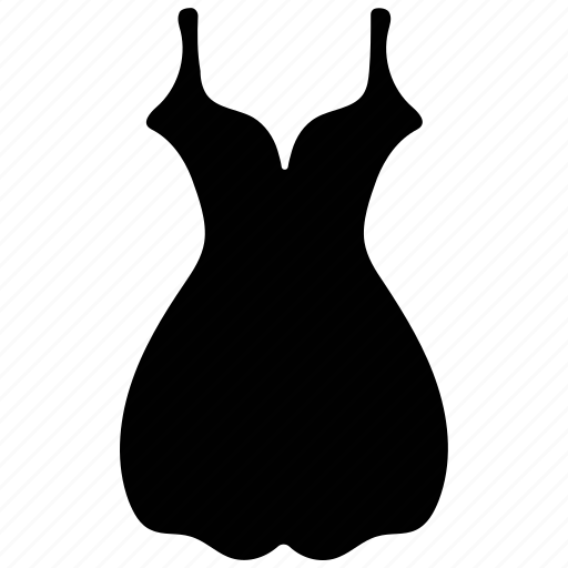 babydoll, clothing, cocktail, dress icon